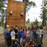 Kletterwand summer camp